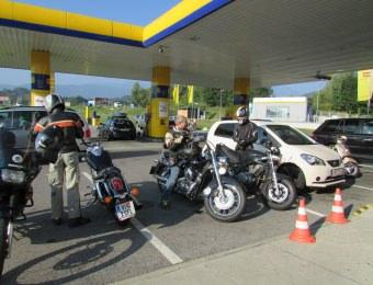 8. Motorradtreffen in Kaning beim Unterwirt