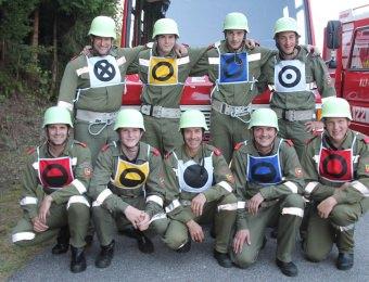 Bezirkscupfinale der Feuerwehr in Kellerberg