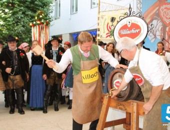 Hochamt, Eröffnung und Bieranstich zum Villacher Kirchtag