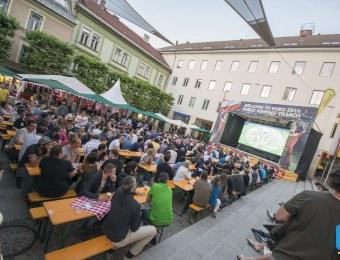 Public Viewing Villach 10.6.2016