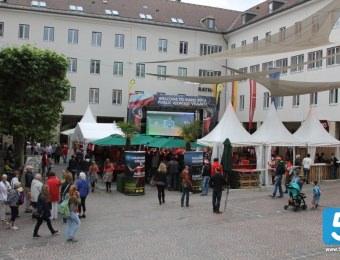 Public Viewing Österreich - Ungarn