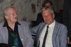 Hermine Wiegele  (Chefin der Bäckerei Wiegele in Nötsch) mit LH Peter Kaiser
