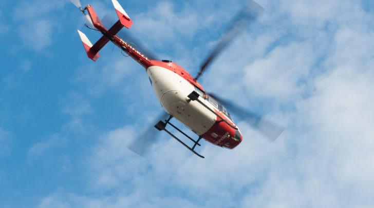 Rettungshubschrauber Hubschrauber