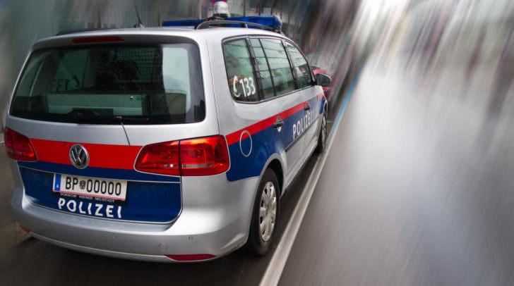 Polizeiauto in sterreich - Polizeiwagen