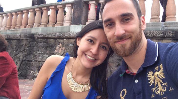 Seine Fernanda hat René Kopeinig in einem Salsa-Club kennengelernt:
