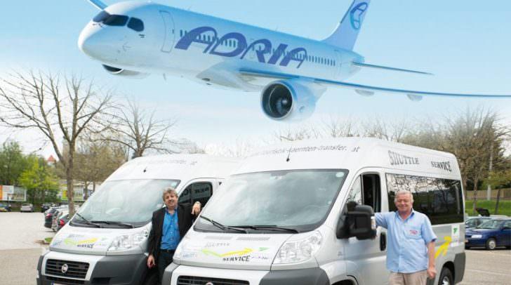Touristik Kärnten Transfer bietet Busverbindung zwischen Villach, Klagenfurt und Laibach an