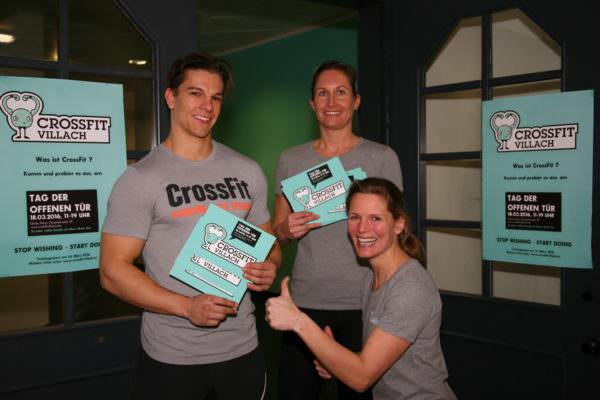 Voll motiviert – CrossFit erobert Villach!