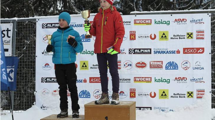 Jasmin Moser (Achomitz) gewann in der Nordische nKombination und beim Spezialsprunglauf