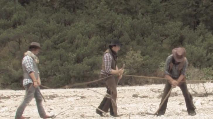 """Die Idee mit dem """"Wilden Westen"""" zu starten kam vom Villacher Filmemacher Thomas Egger"""