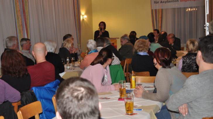 Die FPÖ organisierte eine Informationsveranstaltung