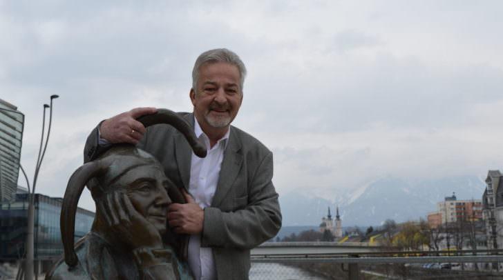 Ab Juni legt er wieder los: Manfred Tisal startet dann mit seinen humoristischen Stadtspaziergängen