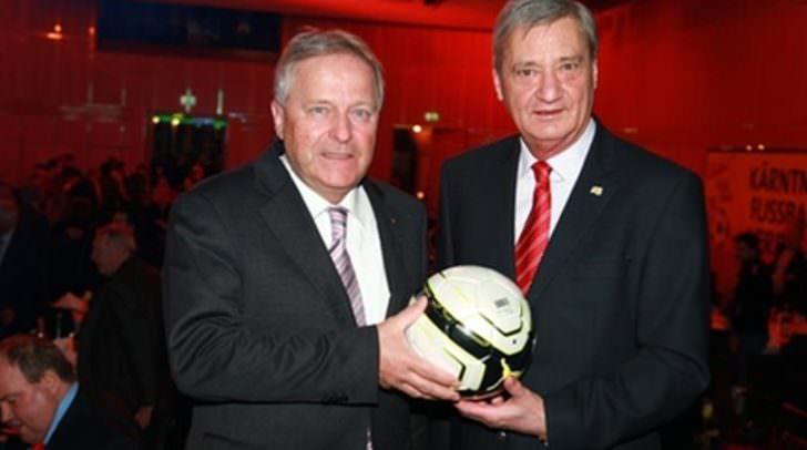 Ein Villacher kämpft um das Präsidentenamt des KFV: Schafft Werner Lippitz (rechts im Bild) die dritte Periode als Präsident?