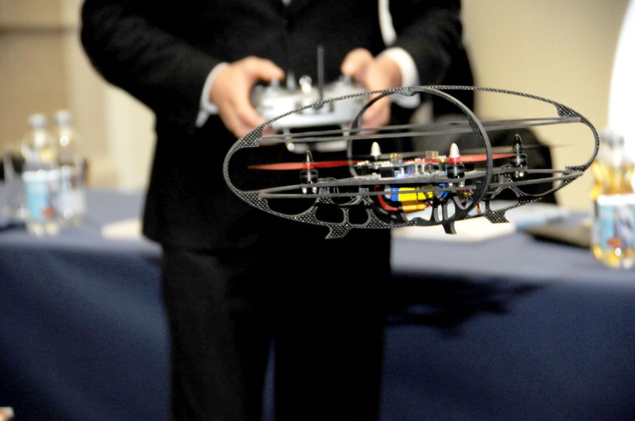 Gemeinsames Forschungslabor von Infineon und Management Center Innsbruck. Innovationsprojekt fŸr Multicopter bereits marktreif.
