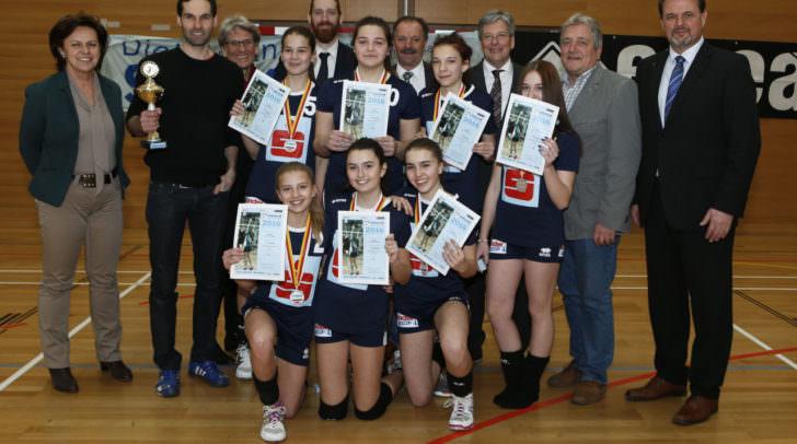 Gruppenfoto mit den 2. BG Villach St. Martin