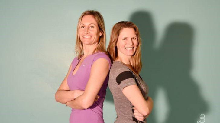 Sie bringen Villach künftig ins Schwitzen: Grete Passegger (links) und Ulla Zankl