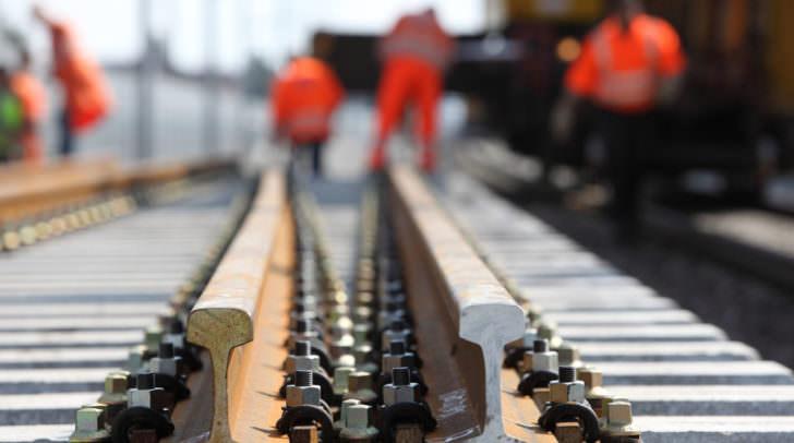 Die Sperre des Gleises kann bis zu eine Woche dauern.