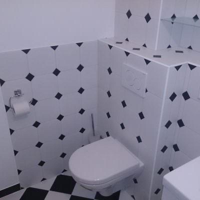 Hier wird ihr Bad nach Ihren Wünschen gestaltet
