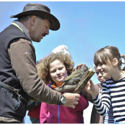 Die Naturpark-Ranger vermitteln Wissen und laden zu interessanten Führungen. (Bild: Naturpark Dobratsch)