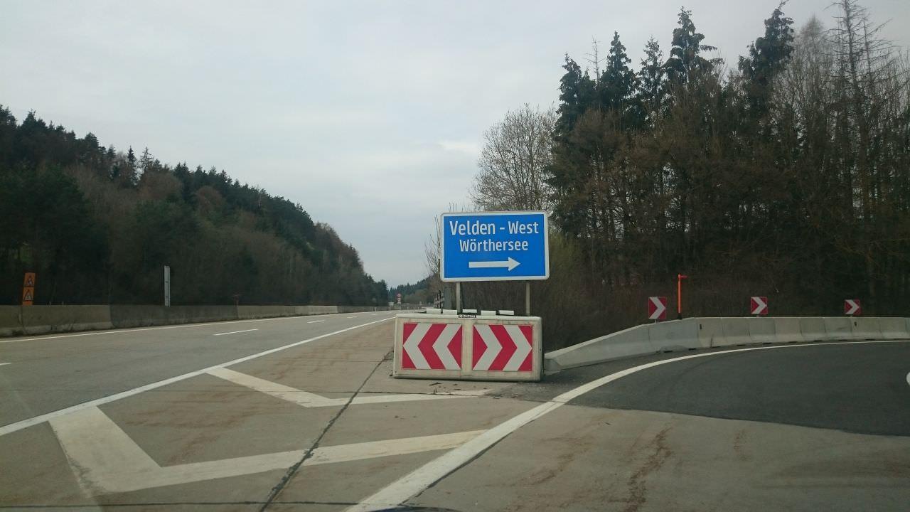 Velden A2 Autobahn