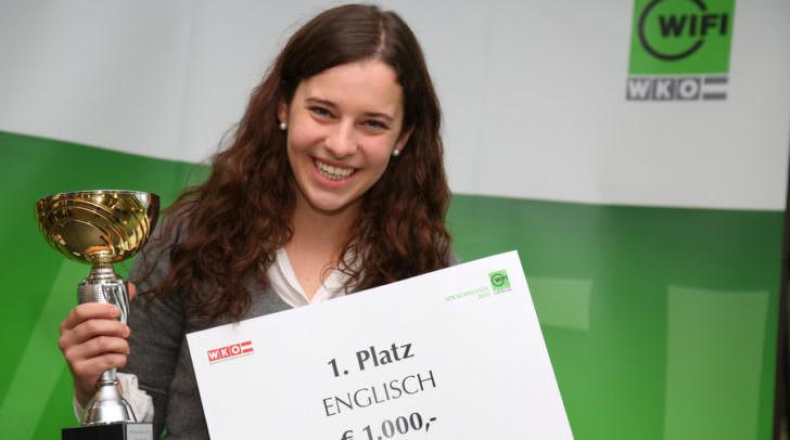 Teresa Sihler gewann bei größtem Fremdsprachenwettbewerb Österreichs