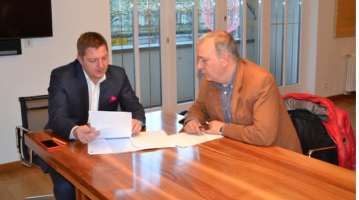 Bürgermeister Günther Albel und Stadtpolizeichef Erich Londer setzen entsprechende Maßnahmen im Kampf gegen das aggressive Betteln
