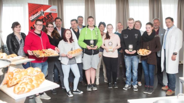 Kärntner Jungbäcker überzeugten beim Landeslehrlingswettbewerb. Chantal Offizia schafft es ganz nach oben aufs das Podest
