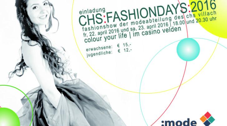 Einladung chs:fashiondays:2016