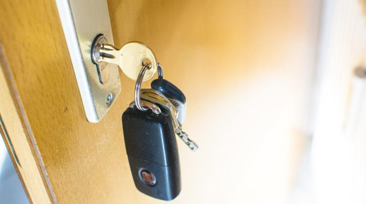 Einbruch Wohnung Diebstahl Polizei Schlüssel