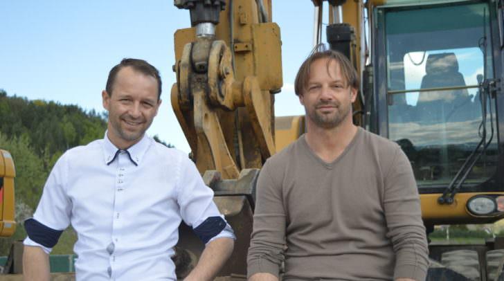 Zwei Brüder, die den Immobilienmarkt in Villach massiv mitgestalten: Adolf (r.) und Christian Nageler