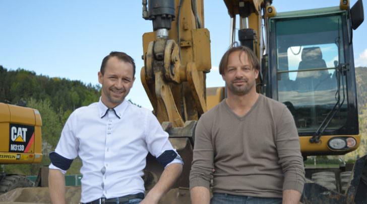 Christian und Adolf Nageler zählen zu Villachs Top Immobilien Spezialisten und laden zum Tag der offenen Tür bei der Wohnanlage St. Martin