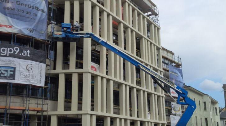 Die Bauarbeiten sind noch voll im Gange - trotzdem steht jetzt schon fest - das wird Villachs erste Adresse werden: HGP9
