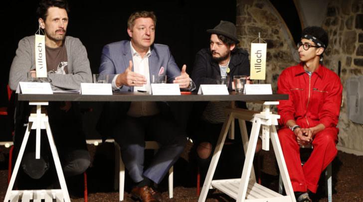 Heute, 12. April fand im Kulturhof:Keller mit Bgm. Günther Albel eine Pressekonferenz statt