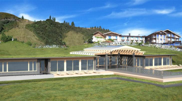 Mountain Resort Feuerberg - 10te Baustufe seit 2007 - mit herausragenden Wellness-Innovationen