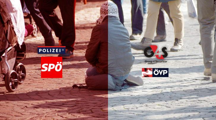 SPÖ will Polizei - ÖVP möchte zusätzlich Group4