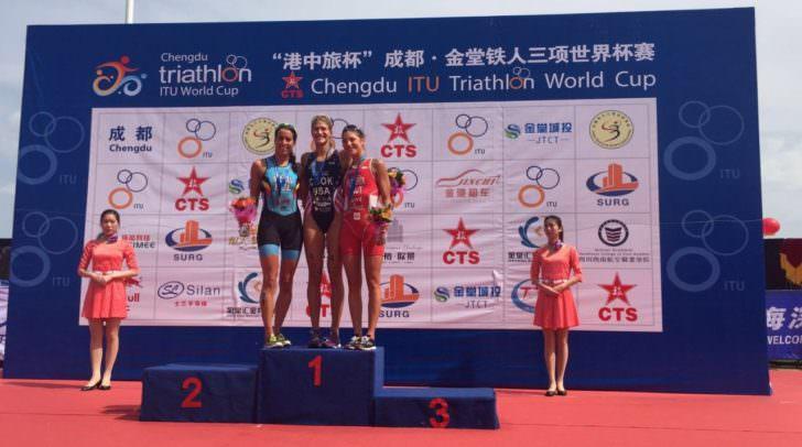 Gratulation an Lisa Perterer – sie landete in China auf Platz 3 beim Weltcup