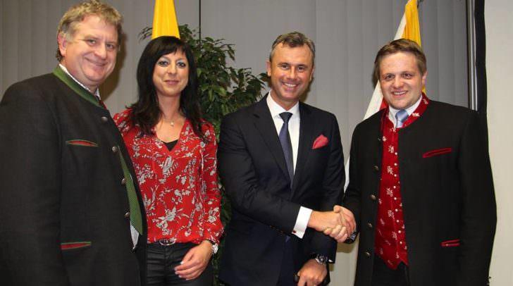 Gerhard Altziebler (Bürgermeister von Fresach) konnte sich heute doppelt freuen: Einerseits ein Top-Ergebnis für Norbert Hofer und andererseits die höchste Wahlbeteiligung in Villach Land für seine Gemeinde