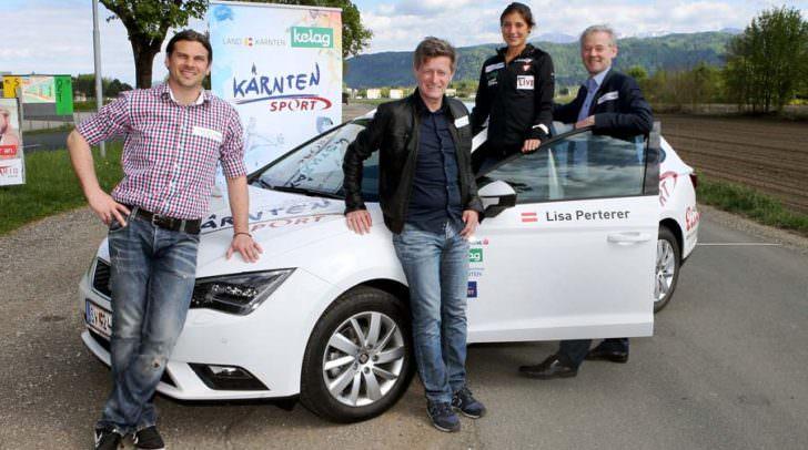 Stefan Weitensfelder, Mag. Arno Arthofer, Lisa Perterer, Mag. Werner Pietsch.
