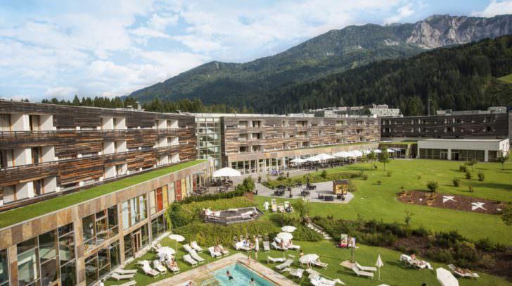 Die traumhafte Kulisse für ein einzigartiges Tanzwochenende: Das Falkensteiner Carinzia Hotel & Spa in Tröpolach bei Hermagor