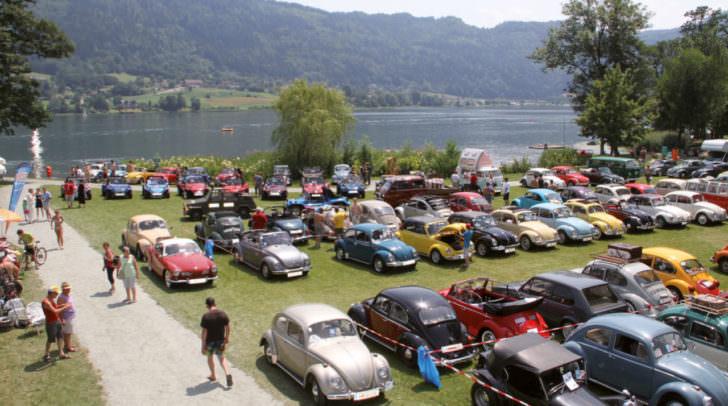 Beim Internationalen VW Käfertreffen war in den vergangenen Jahren immer viel los.