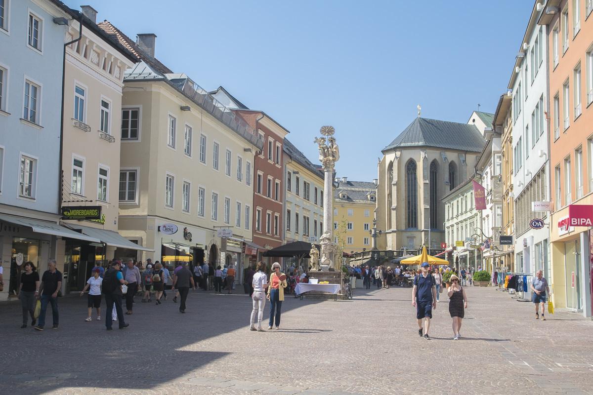 Villach Hauptlatz Innenstadt