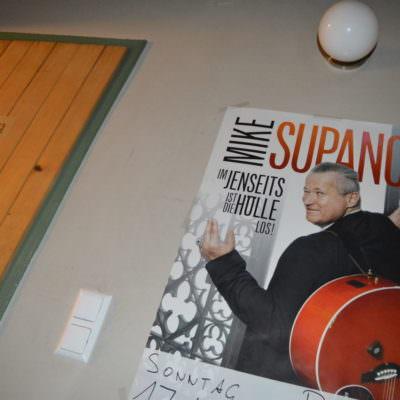 Oder Kabaretts wie mit Mike Supancic