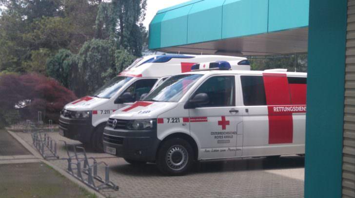 Rettung, Rotes Kreuz, LKH Villach,