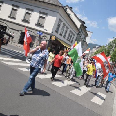 Antifa PDV Demo Villach