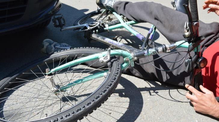 unfall, fahrrad, polizei, verkehr
