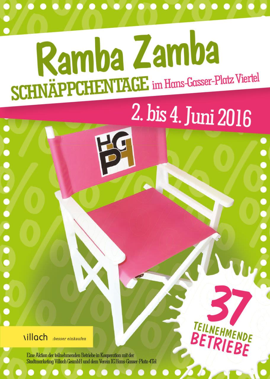 Flyer A5 Ramba Zamba Frühjahr 2016.indd