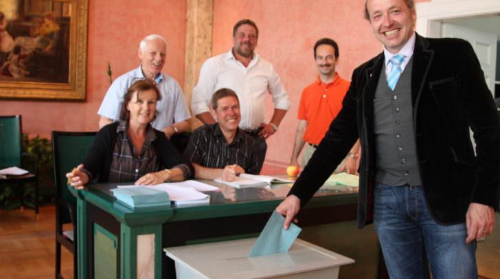 """Heute wurde gewählt! Wie hier im Wahlsprengel """"Standesamt"""" – ein Vorab-Ergebnis könnte ab 19 Uhr möglich sein"""