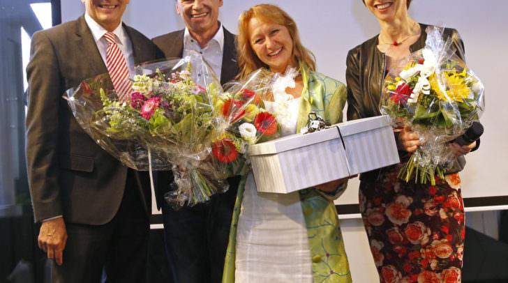 Eröffnung der neuen Alban Berg Musikschule in Velden mit LH Peter Kaiser, Bürgermeister Ferdinand Vouk, Direktorin Barbara Lerchbaumer-Gabalier und LHStv. Gaby Schaunig