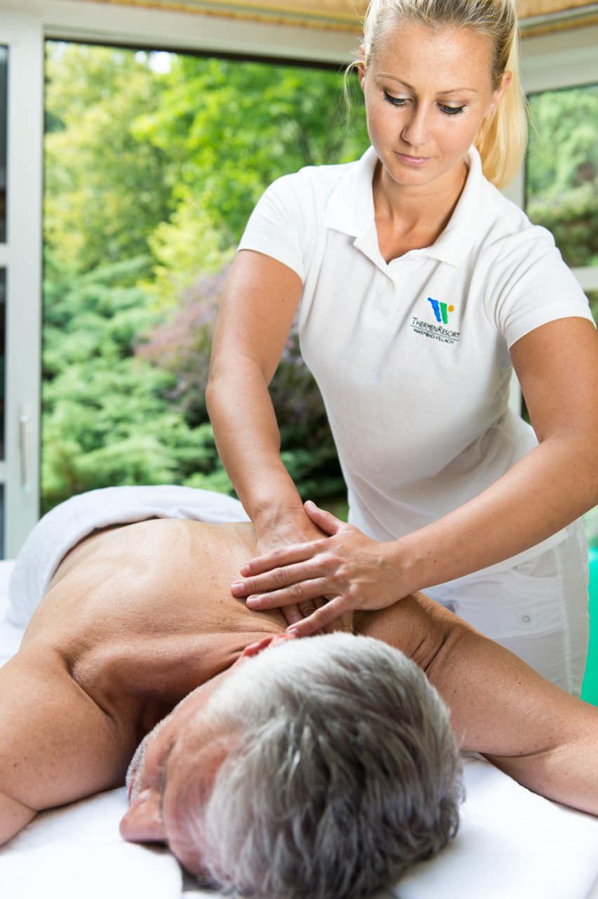 VIBE Therapie im Warmbaderhof Massage