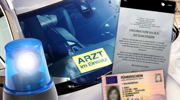 Im Mai 2016 vergaß er sein Blaulicht, er war am Weg zu einem sterbenden, schmerzgeplagten Patienten. Die Folge: Führerscheinentzug.