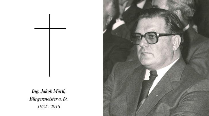Ing. Jakob Mörtl, Bürgermeister a. D.